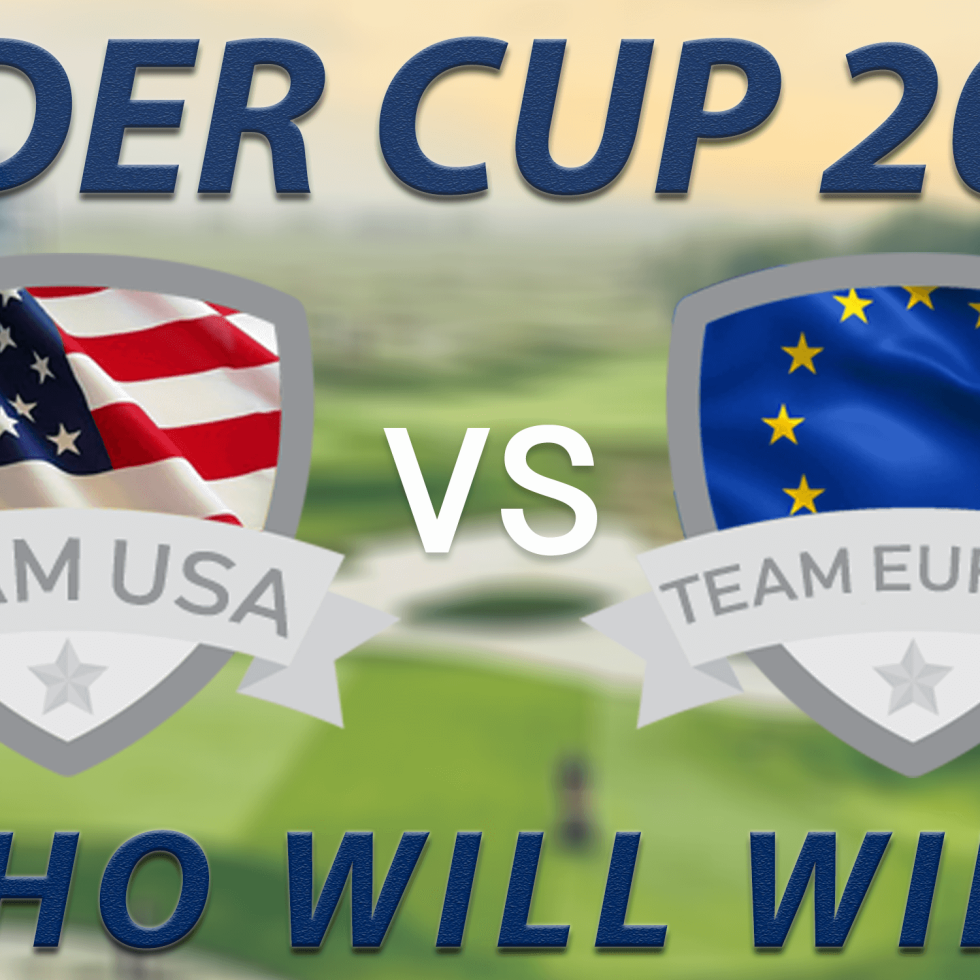 Ryder Cup 2018 Blog Page Main Banner. Team Europe vs Team USA