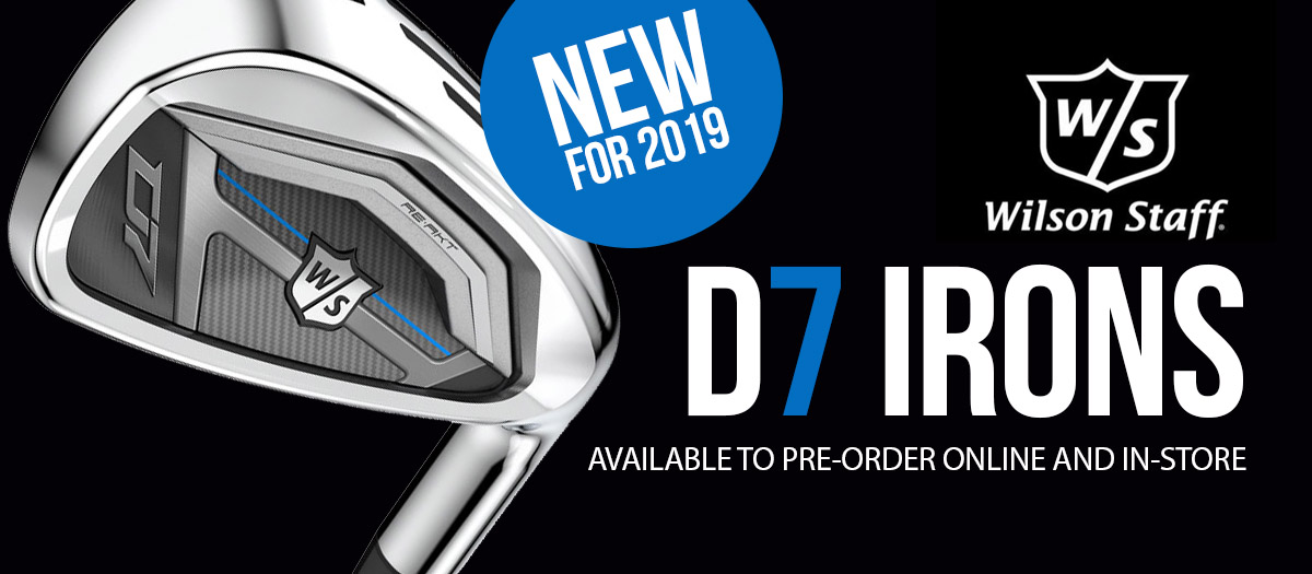 NEW! Super Game Improvement Irons - Wilson Staff D7