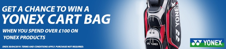 Yonex Cart Bag Promotion
