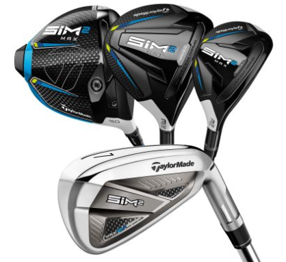 TaylorMade SIM 2 Max Golf Club Set